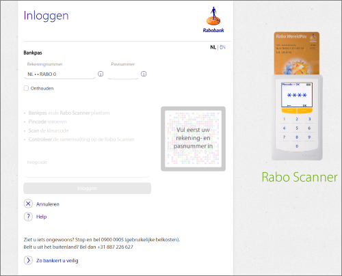 Register and activate the Rabobank bank link (AFAS Online) - AFAS